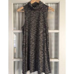 Postmark turtleneck sleeveless dress.